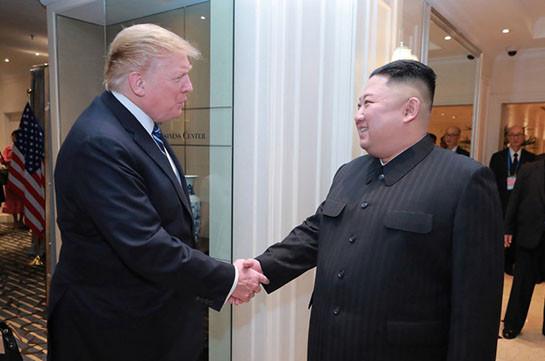 Трамп заявил о хороших отношениях с Ким Чен Ыномном
