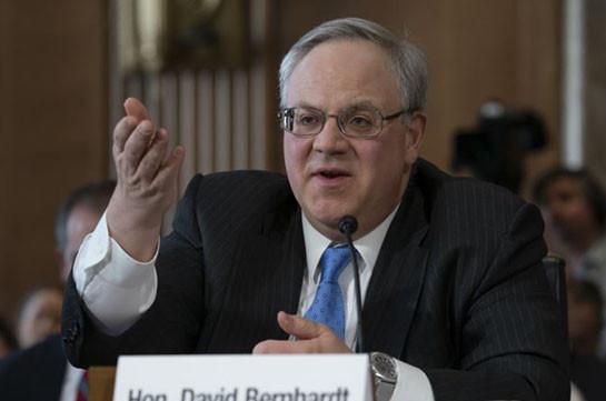 Սենատը Դևիդ Բեռնհարդտին հաստատել է ԱՄՆ ՆԳՆ ղեկավարի պաշտոնում