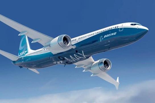 Армения продлила запрет на полеты самолетов Boeing 737 MAX 8 и 737 MAX 9