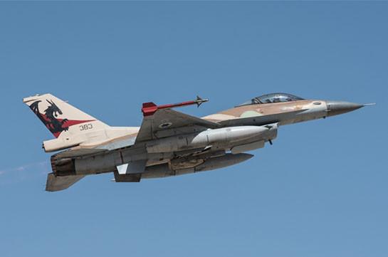 Израильские ВВС нанесли ракетный удар по сирийской территории (Видео)