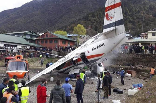 Три человека погибли из-за столкновения легкомоторного самолета и вертолета в Непале