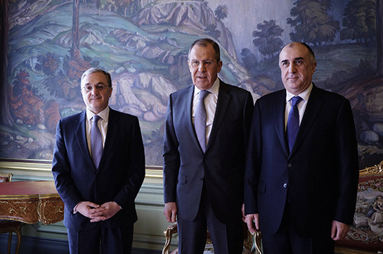 Armenian, Azerbaijani FMs agree to allow visits of relatives of prisoners