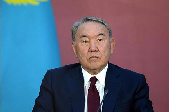 Назарбаев направил благодарственные письма трем президентам Армении