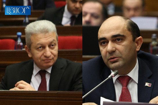 Bright Armenia faction demands finance minister's resignation