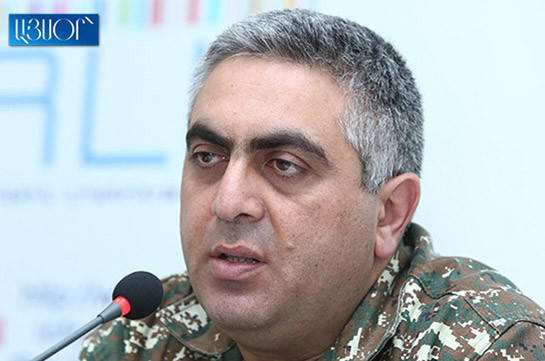 Contractual serviceman receives gun wound, being operated on: Artsrun Hovhannisyan