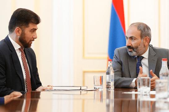 Armenia's PM satisfies investigator's decision to temporarily suspend Davit Sanasaryan's authorities