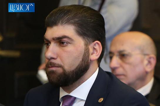 Davit Sanasaryan sues Ethics Commission of High Ranking Officials