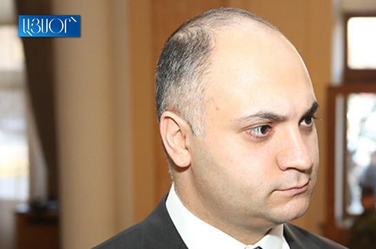 Гегам Геворкян избран председателем Государственной комиссии по защите экономической конкуренции