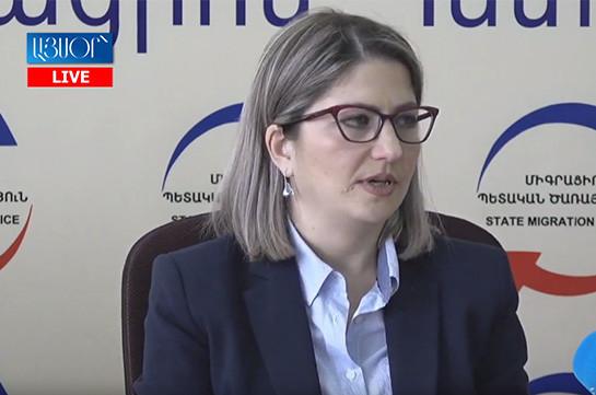 Հայաստանը ռեադմիսիոն համաձայնագրեր կնքել է 13 երկրի հետ. ՀՀ միգրացիոն ծառայության վերադարձի և վերաինտեգրման բաժնի պետ
