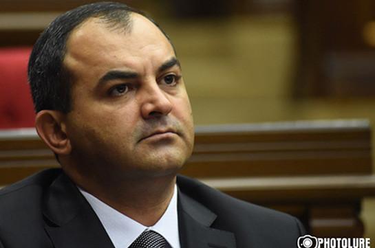 Генпрокурор Армении выразил соболезнования в связи со смертью экс-директора СНБ Георгия Кутояна
