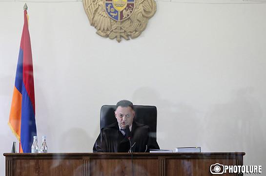 Դատարանը մերժեց Քոչարյանի պաշտպանների միջնորդությունը. Դատավորն ինքաբացարկ չի հայտնի