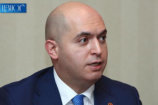 Встречался со спикером парламента по своей инициативе, результатами доволен – Армен Ашотян