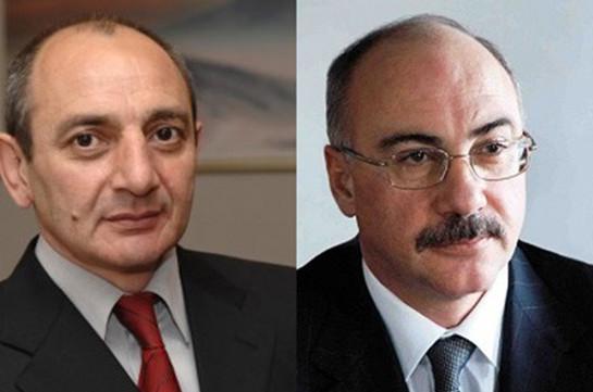 Действующий и бывший президенты Карабаха просят суд освободить экс-президента Армении
