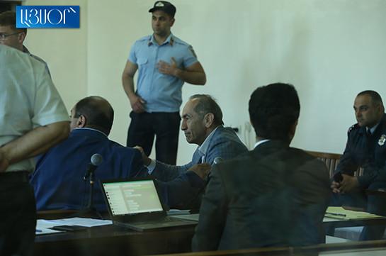 Biased approach throughout whole examination process: Kocharyan to court
