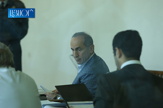 Prosecutors hide NSS letter throughout the whole process: Kocharyan to judge