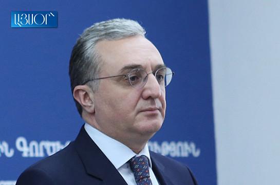 Зограб Мнацаканян: Ожидается, что встреча глав МИД состоится в Вашингтоне