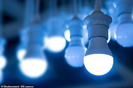 LED lights in your house can cause irreversible damage to the eyes