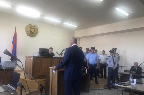 Bako Sahakyan, Arkady Ghukasyan claim their guarantees for Kocharyan's release at court