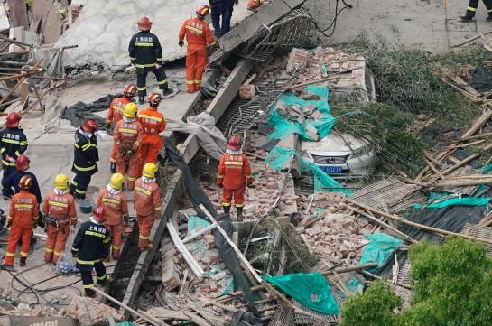 Շանհայում շենքի փլուզման հետևանքով առնվազն 5 մարդ է մահացել