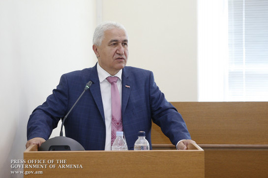Former rector of Armenia's State University of Economics accused of big amount of embezzlements