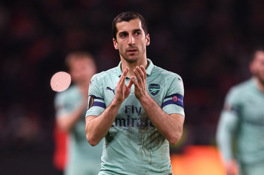 Arsenal fans to conduct protest action in support of Armenia's midfielder Henrikh Mkhitaryan if he misses final match in Baku