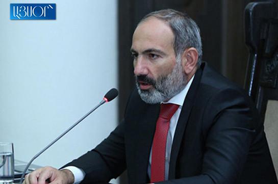 Armenia's PM promises not to slow down Karabakh peace talks
