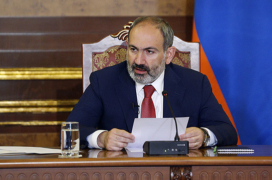 Some officials use corrupt ties for false propaganda against Armenia's PM in Artsakh: Pashinyan