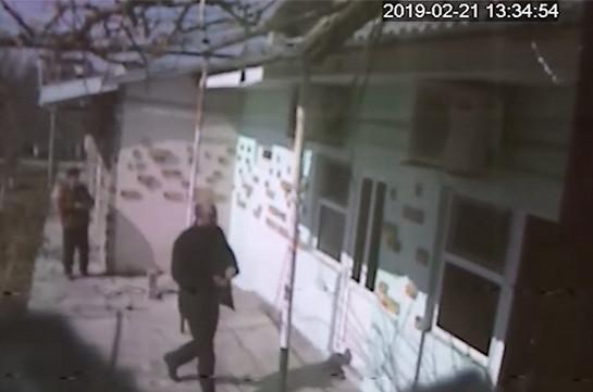 Հյուրանոցից հափշտակություն կատարած տղամարդը որոնվում է (Տեսանյութ)
