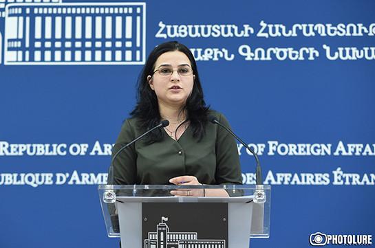 Проведение военных учений без предварительного уведомления является нарушением обязательства перед ОБСЕ – Анна Нагдалян