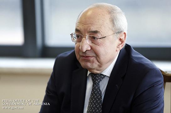 Вазген Манукян считает опасным намерение создание следственной комиссии парламента по изучению обстоятельств апрельской войны
