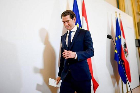 Ավստրիայի ազատության կուսակցությունը պատրաստ է անվստահության քվե հայտնել Կուրցին