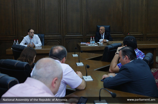 CC judge candidate Arthur Vagharshyan meets with My Step faction lawmakers