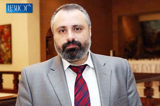 Post about occupying Shushi is what Azerbaijan really is: Davit Babayan
