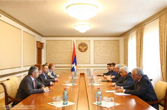 Президент Карабаха обсудил с главой КС вопросы сотрудничества