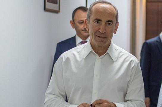 «Սիստեմա» ԲՖԿ-ն առաջարկել է Ռոբերտ Քոչարյանին ներառել Տնօրենների խորհրդի կազմում