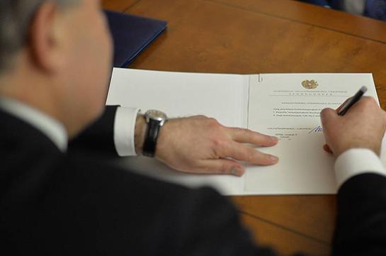 Գառնիկ Բադալյանը նշանակվել է Տաջիկստանում Հայաստանի դեսպան