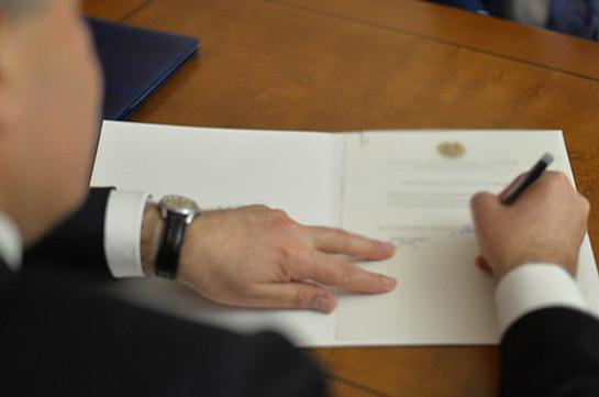 Тигран Геворкян назначен послом Армении в Иордании