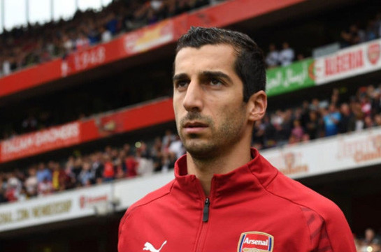 UEFA bans Arsenal players conduct action in Baku in support of Henrikh Mkhitaryan