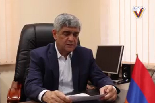 Artsakh Security Council Secretary Vitaly Balasanyan announces launch of For Artsakh pan-national movement