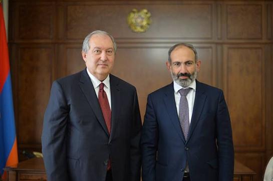 Президент Армении Армен Саркисян назначил новых министров