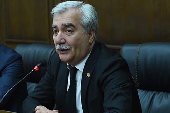 АРМЕНИЯ: Айк Арутюнян был очень важным свидетелем, поскольку занимал пост главы МВД и владел огромной информацией – Андраник Кочарян