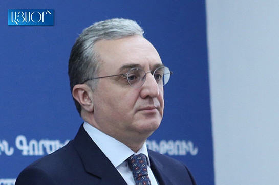 EU-Armenian arrangement corresponds en route for government's certificate of reforms: Armenia's FM