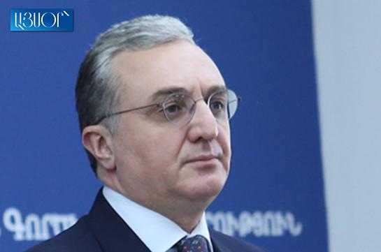 No one should doubt in Armenia's and Artsakh unity: Zohrab Mnatsakanyan