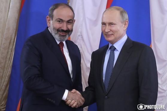 Пашинян заявил о значимости ЕАЭС для экономического роста Армении