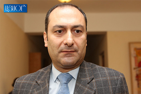 Armenia's even-handedness attend Artak Zeynalyan announces acceptance
