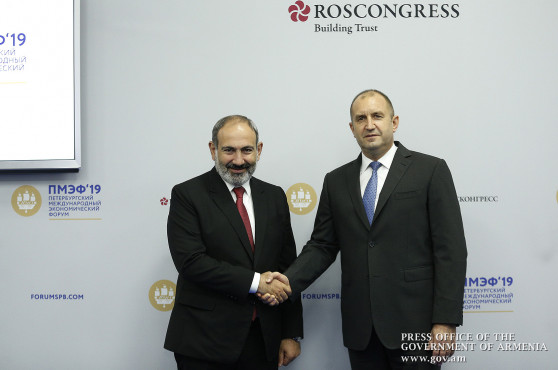 Armenia, Bulgaria en route for give a new lease of life joint cooperation: Nikol Pashinyan meets Rumen Radev
