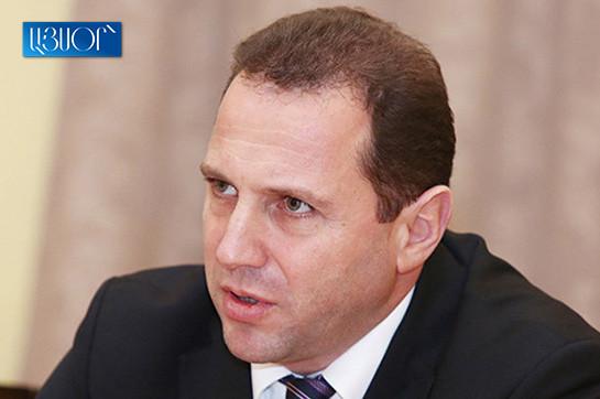 Armenia's Defense care for receives U.S. Atlantic assembly lead