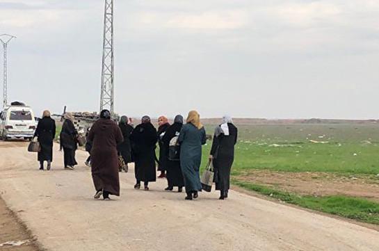 В Сирию за сутки вернулись более 900 беженцев