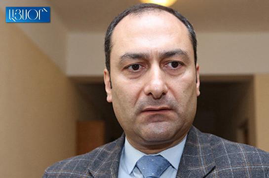Оценив информационные потоки, решил подать в отставку – Артак Зейналян