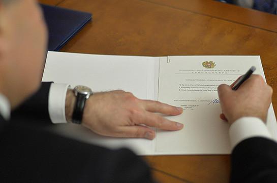 Armenia has new ambassador to Kyrgyzstan